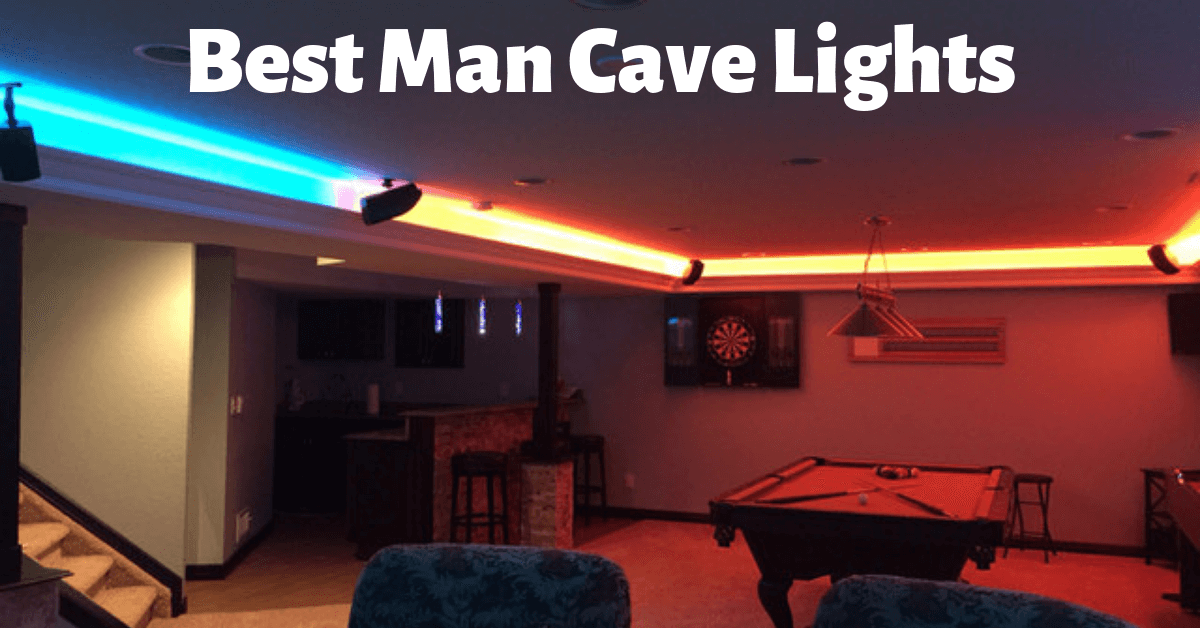 Best Man Cave Lights Dont Be Sitting In The Dark