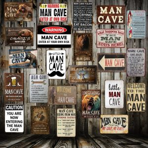 The 5 Best Kinds of Man Cave Signs