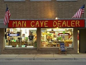 How to Find Man Cave Items for Sale